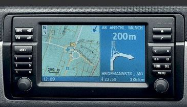 CD BMW VDO Road Map Navigation last update